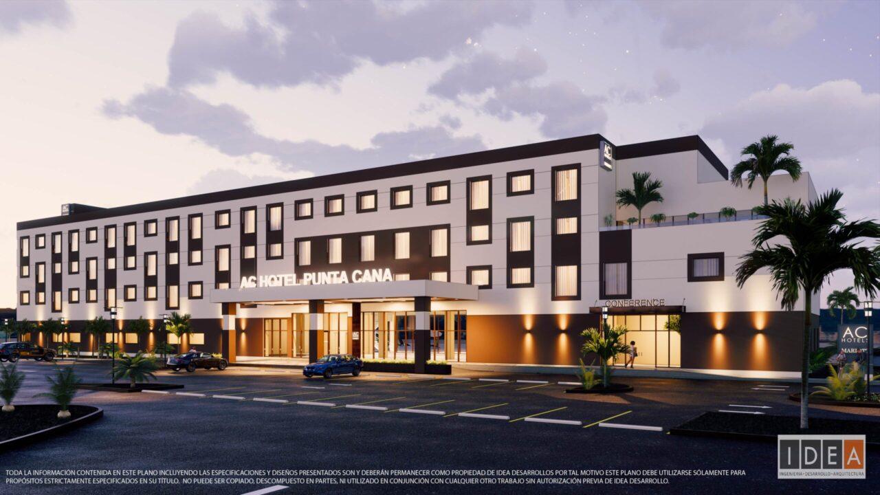 AC Marriott Punta Cana  - Fachada